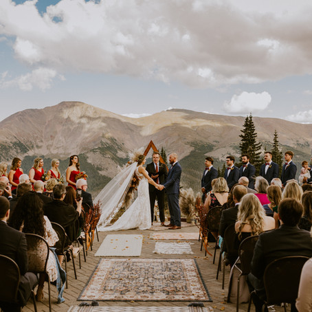 Joey & Rachel's Winter Park, CO 'Lunch Rock' Wedding