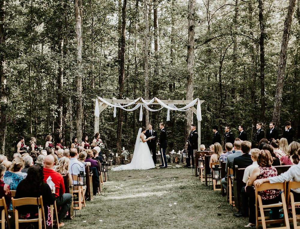 Country wedding perfection