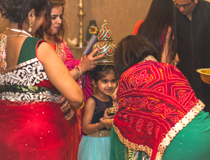 Ghari wedding ceremony with little ones