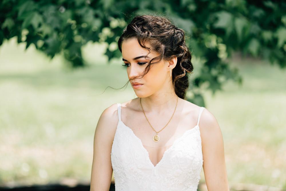 Model becomes bride