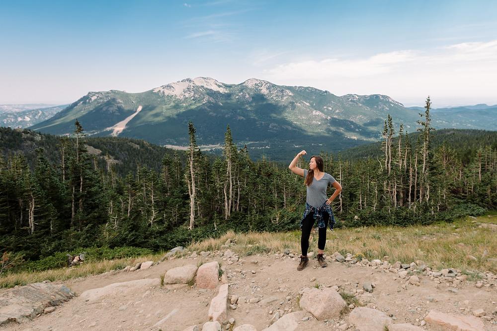Women who hike Colorado
