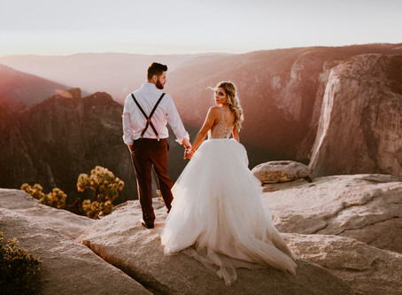 Sarah & Chris's Yosemite Elopement