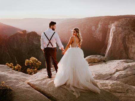 Sarah & Chris's Yosemite Elopement