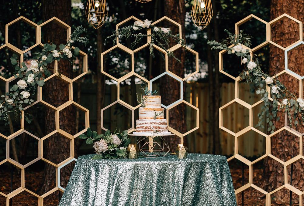 Confection Perfect wedding cake Atlanta