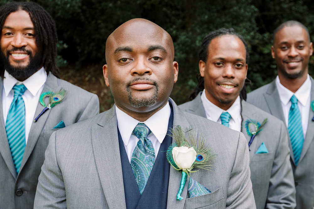 Three Groomsmen picture