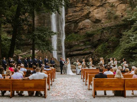 Claudia & Evan | Toccoa Falls Wedding in North Georgia Mountains