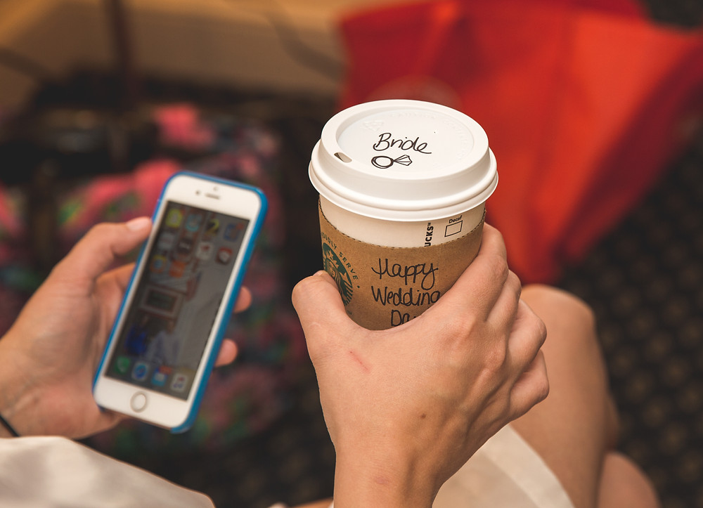 Bride coffee mug