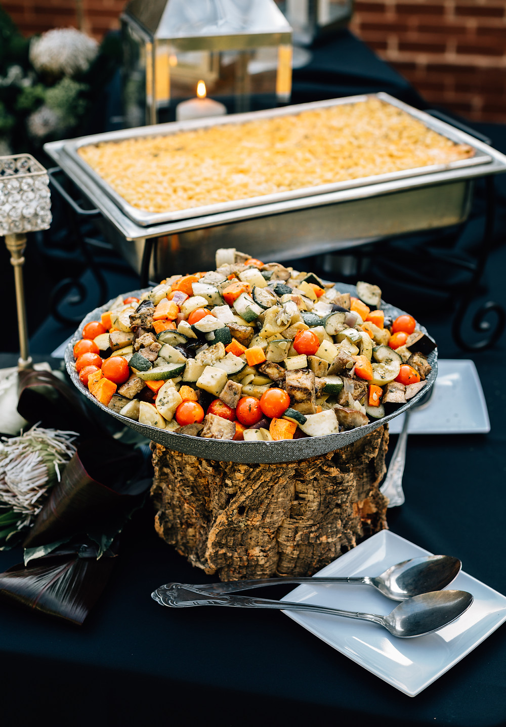 Catering with Three Sisters Atlanta wedding caterers