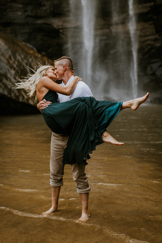 Toccoa Falls Engagement Session