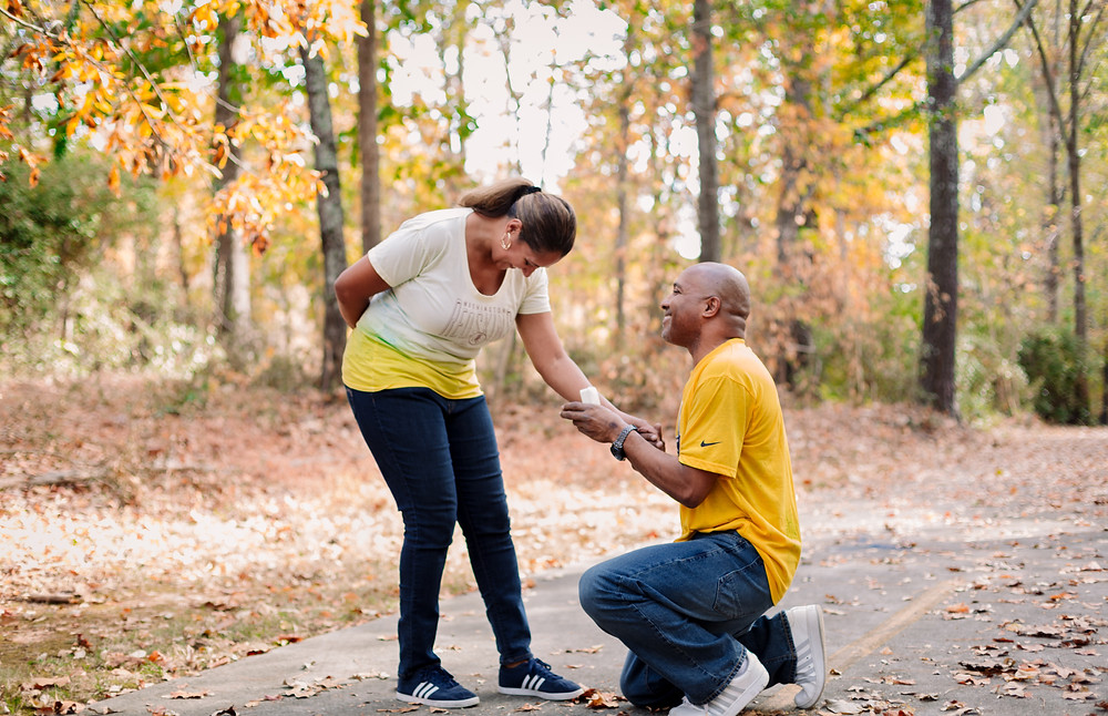 Surprise proposals during engagement session