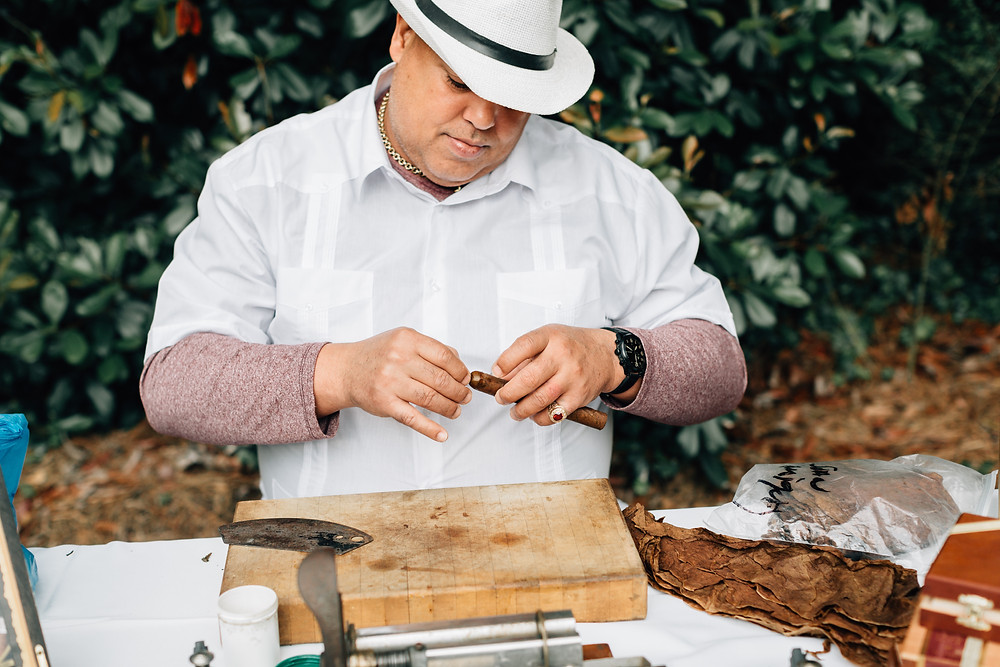 Honor Cigars Atlanta wedding cigar rollers