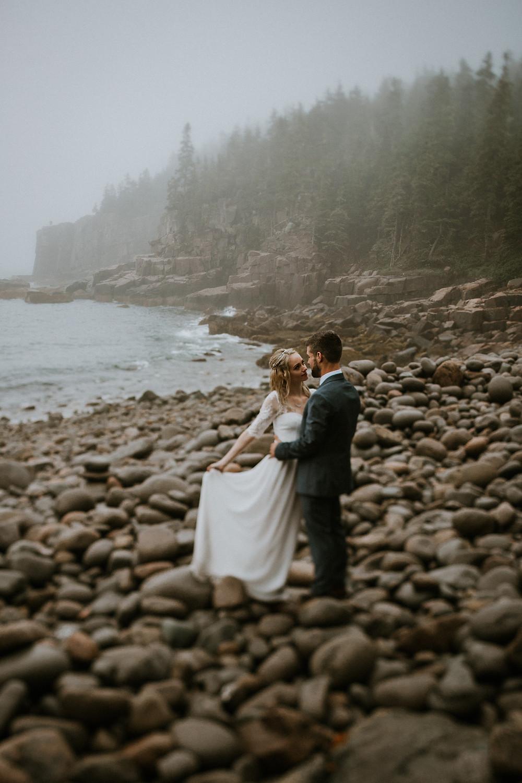 Pebble Beach Acadia National Park