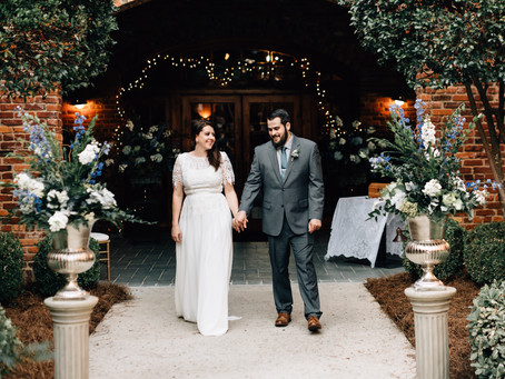 A Traditionally Nontraditional Wedding at The Blacksmith Shop in Macon, GA