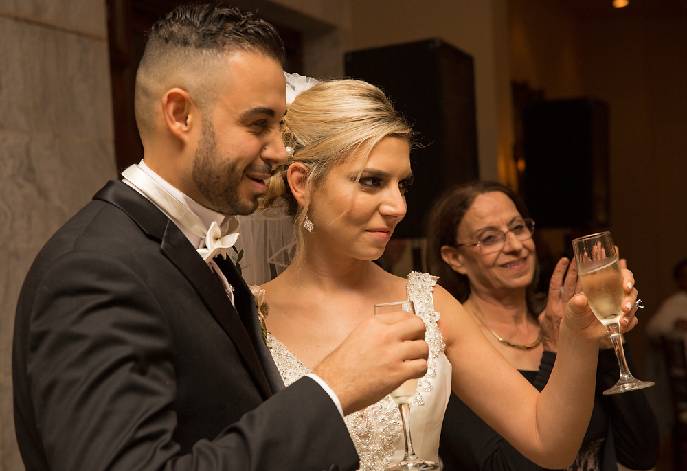They loved their father's wedding toast