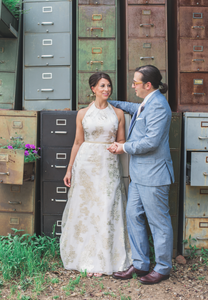 Creative wedding portraits Atlanta