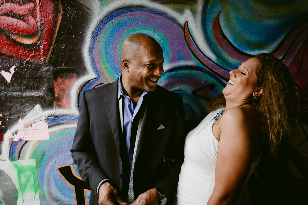 Krog Street Tunnel engagement pictures