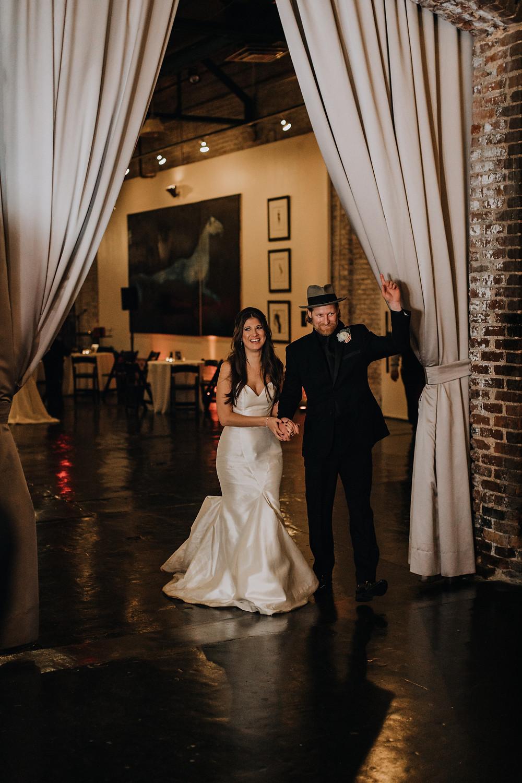 Couple's entrance