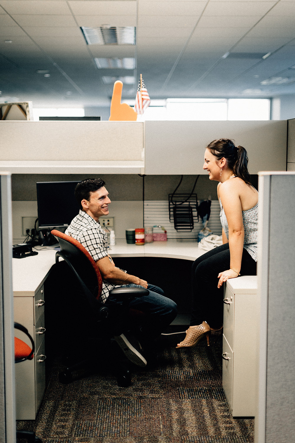 Office engagement session