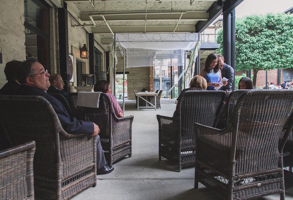 Intimate wedding Atlanta