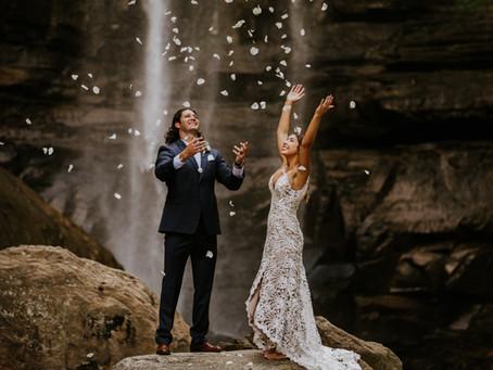 Kelli & Kris' Toccoa Falls Elopement