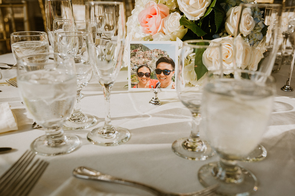 personalized table decor