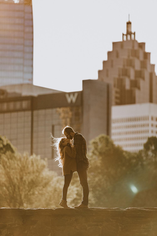Atlanta Skyline Engagement Session