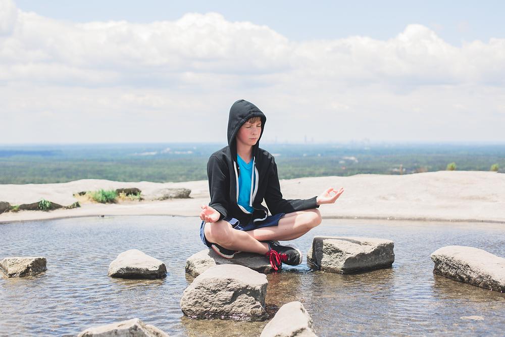 Meditation on Stone Mountain