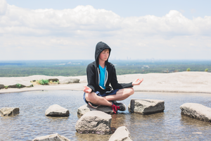 Meditation on Stone Mountain