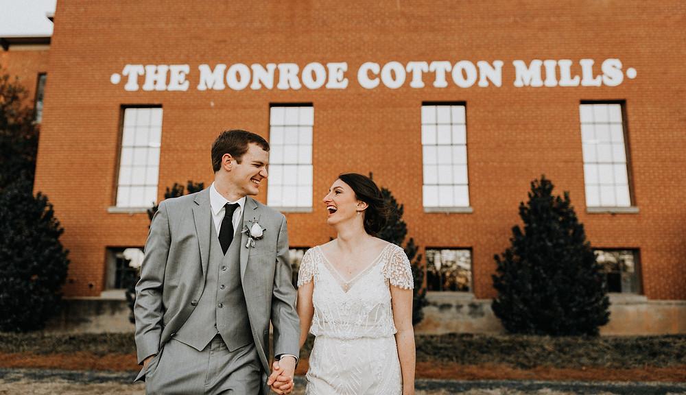 The Engine Room Monroe Wedding Photos