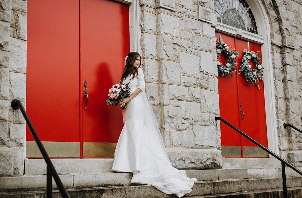 Boho bride Atlanta