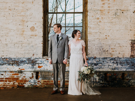 Industrial Boho Chic Wedding at The Engine Room in Monroe, GA
