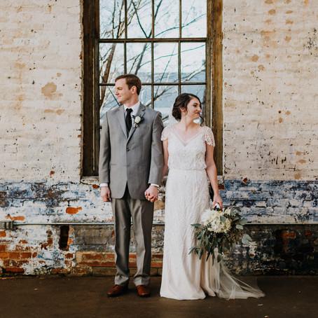 Industrial Boho Chic Wedding at The Engine Room in Monroe, GA