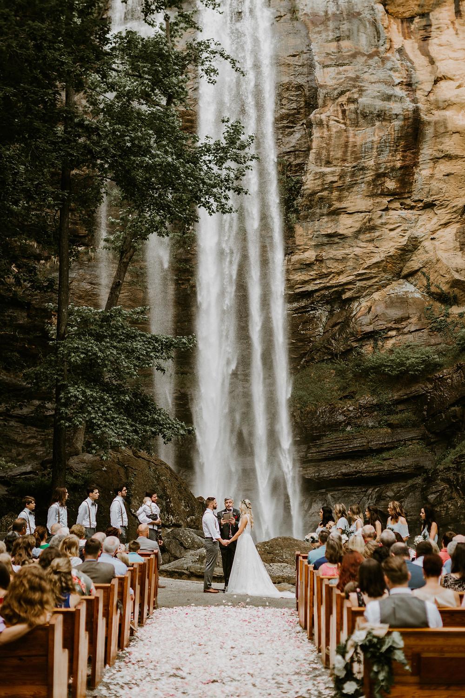 Toccoa Falls Wedding Ceremony