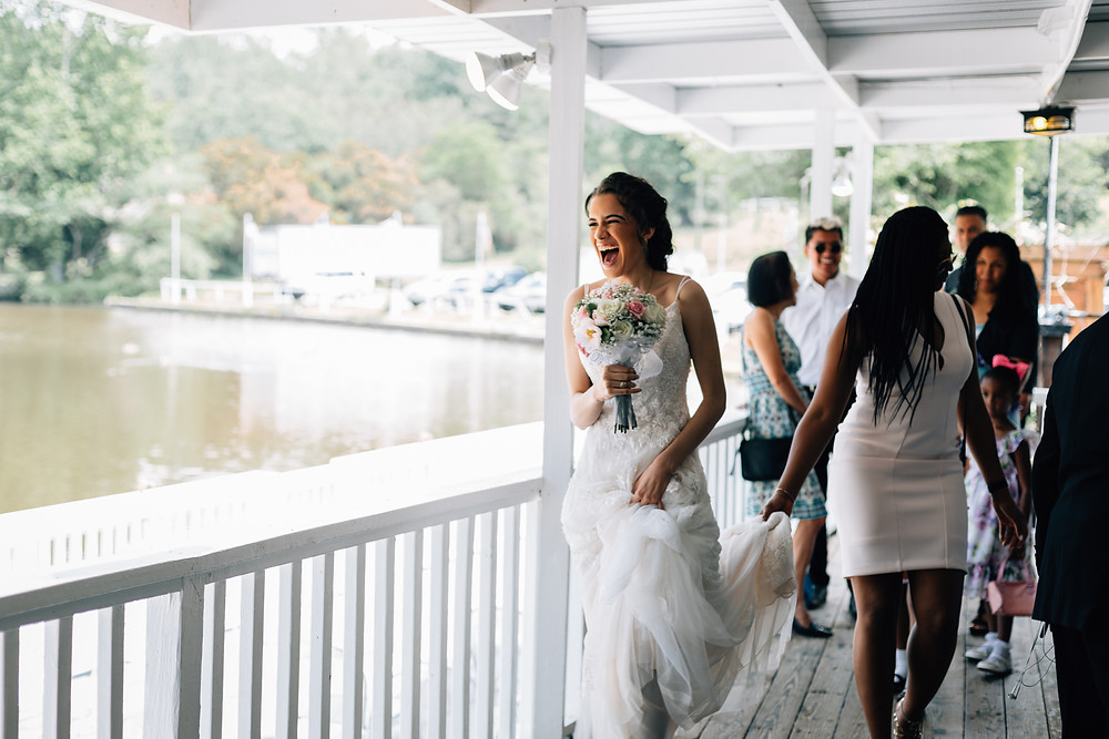 How to stay happy on your wedding day