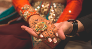 Ring and henna