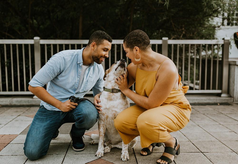 Atlanta Artistic Engagement Photographers