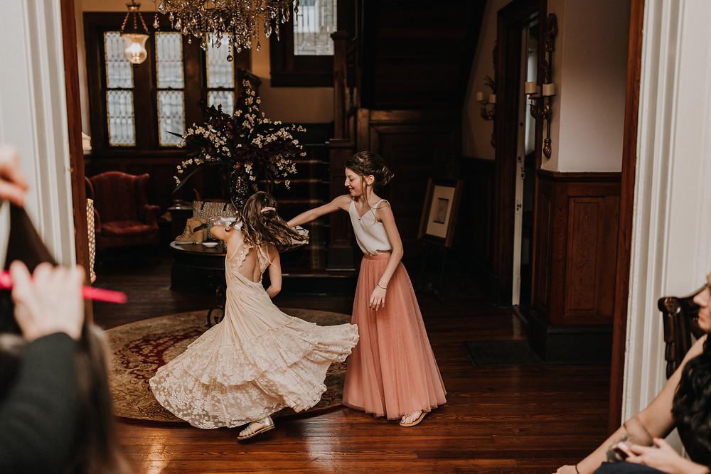 Jr. Bridesmaids Dancing