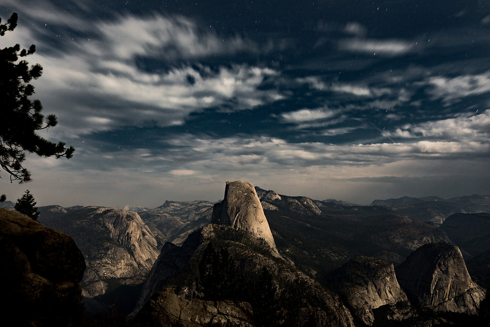 Half Dome long exposure