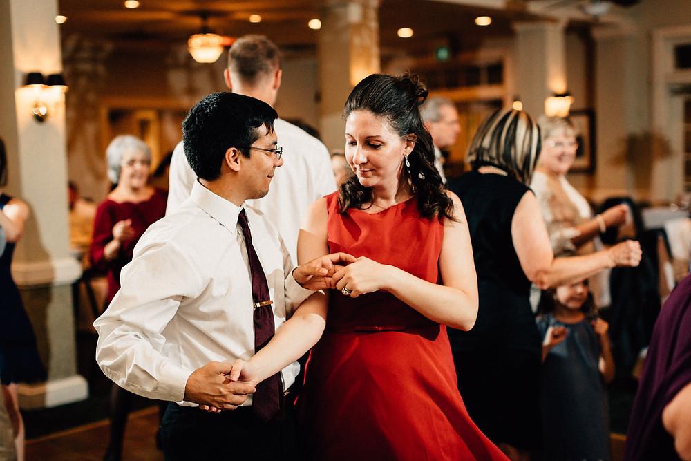 Bridesmaid reception