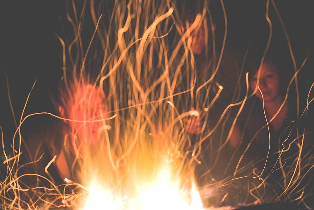 Long exposure fire