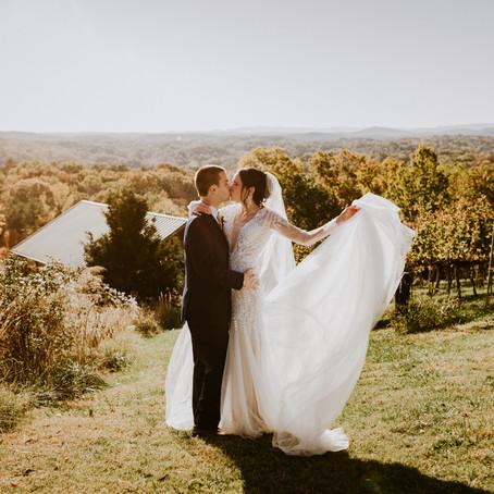 Michelle & Ryan's Wolf Mountain Vineyards Wedding