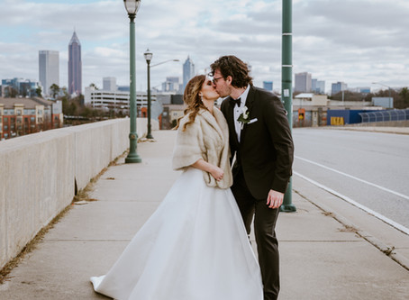 Bailey & Tyler's Upstairs Atlanta Wedding