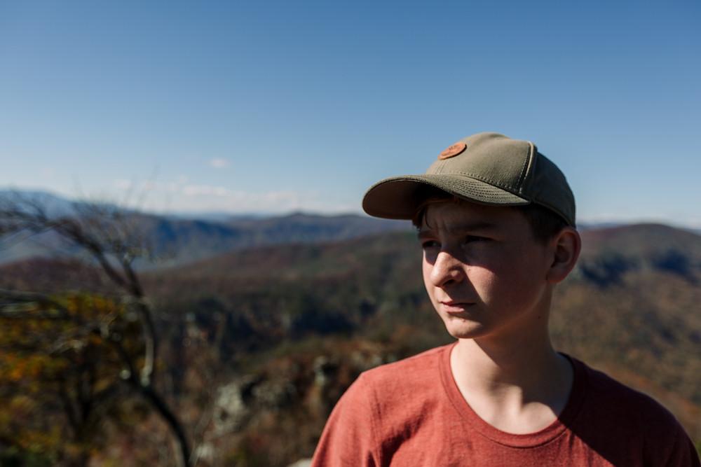 John at the mountains