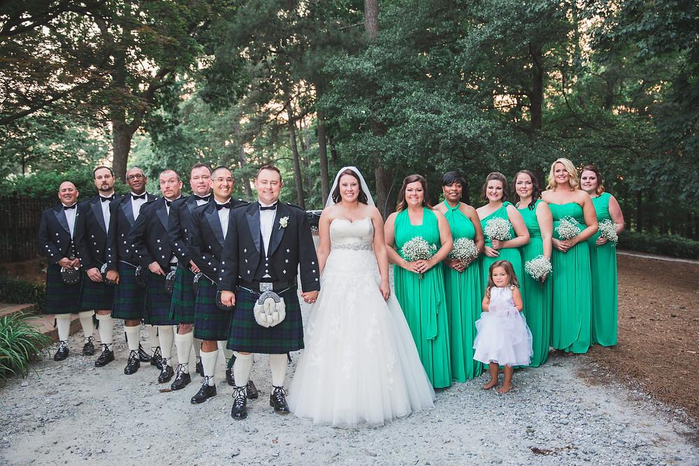 Wedding Party Flint Hill