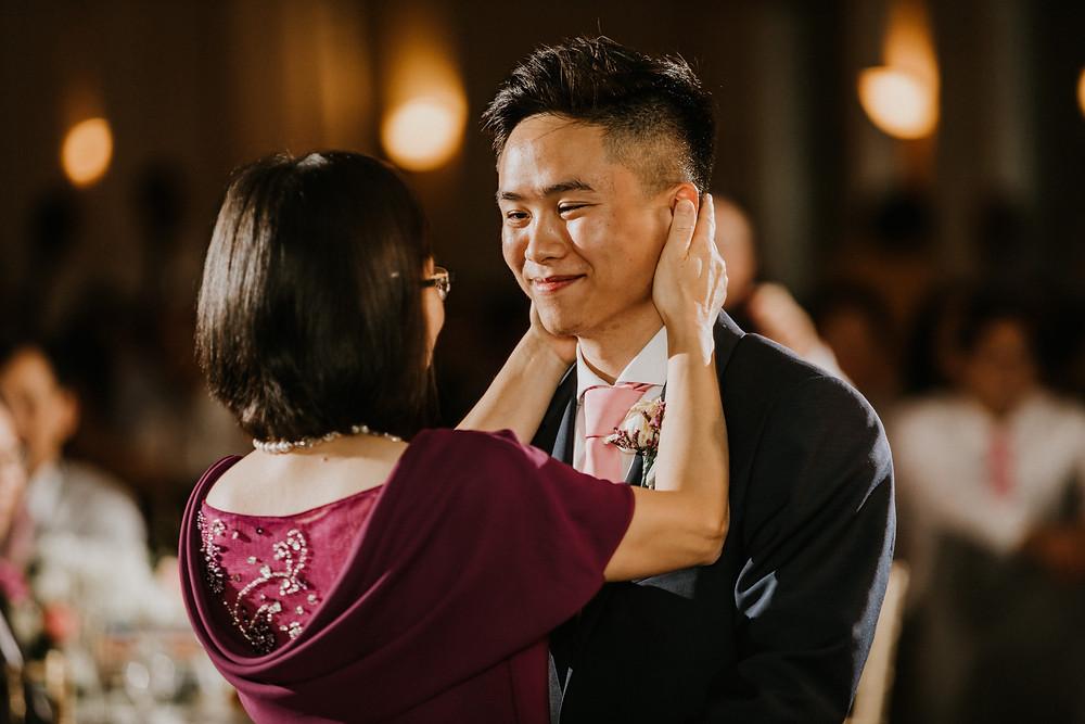 mother & groom dance