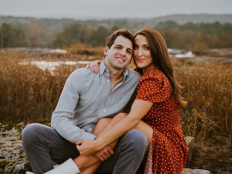 Caitlin & Louis | Boho Atlanta Engagement Session