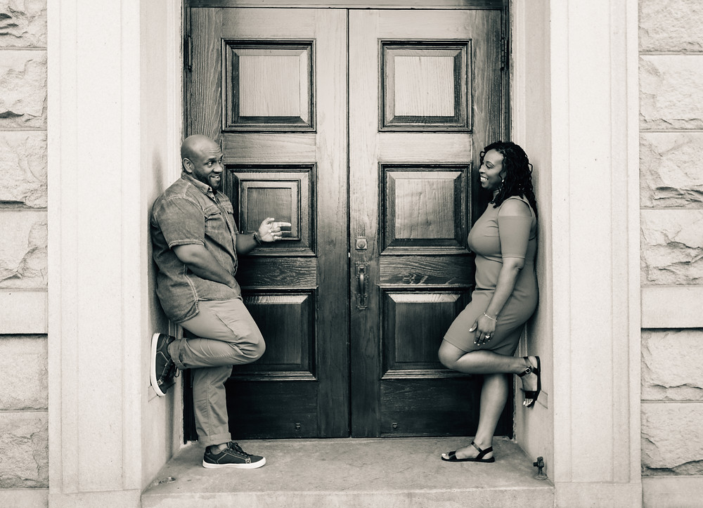 Mr and Mrs Smith engagement pictures