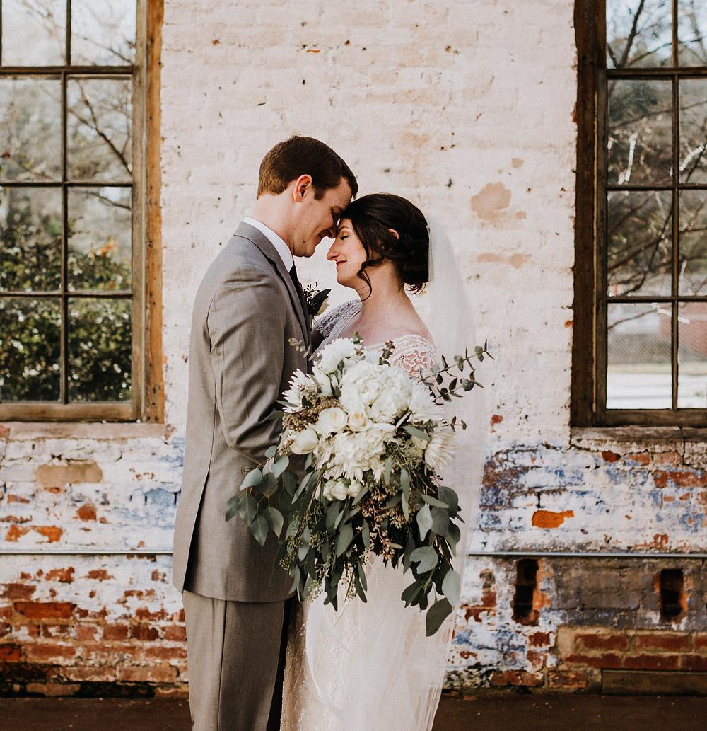 Industrial Atlanta Wedding Photos