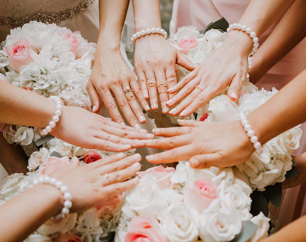 bridesmaids matching rings