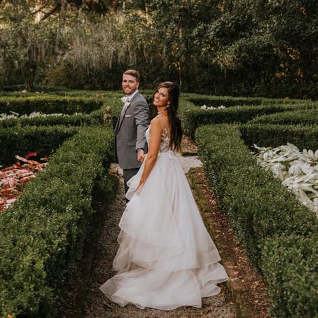 Stephanie & Bo   Magnolia Plantation Wedding in Charleston, SC